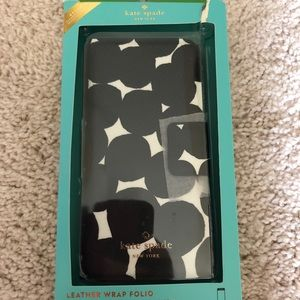 kate spade Accessories - Kate Spade ♠️ Leather Phone Wallet